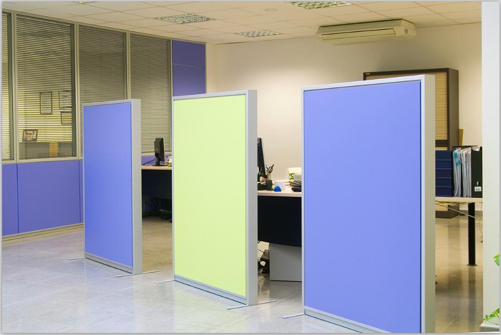Garysan sistemas empresa de dise o de espacios de trabajo for Biombos metalicos