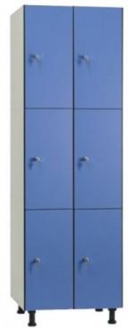 Taquilla 3 puertas 2 modulo
