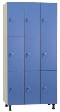 Taquilla 3 puertas 3 modulos